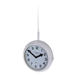 Reloj Colgante Station Blanco