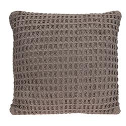 Cojín Weave Algodón Gris 45x45cm