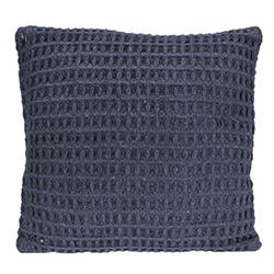 Cojín Weave Algodón Azul 45x45cm