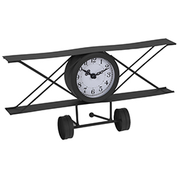 Reloj Avión Negro