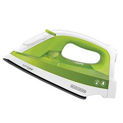 Plancha Blanca con Verde con Vapor  Black+Decker