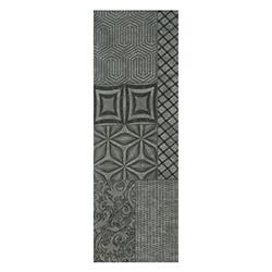 Porcelanato 30x90.2cm  Inserto Ferrum Negro Hecho en España