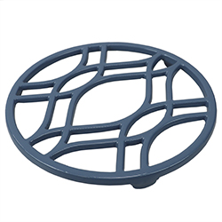 Aislante de Calor Azul de Metal Home Basic