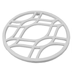 Aislante de Calor Blanco de Metal Home Basic