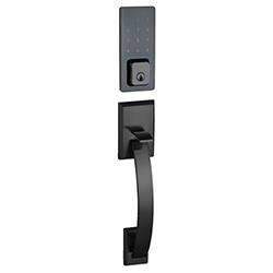 Cerradura Negra SmartDoor E21 Celular - Clave - Llave Davenport