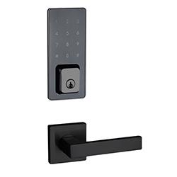 Cerradura Negra SmartDoor E22 Celular - Clave - Llave Davenport