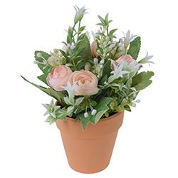 Maceta con Flor 21cm