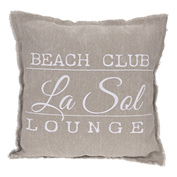 Cojín Beach Club Habano 45x45cm