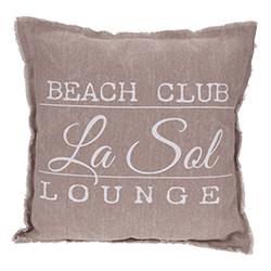 Cojín Beach Club Rosa Oscuro 45x45cm
