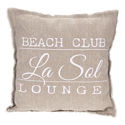 Cojín Beach Club Rosa Claro 45x45cm
