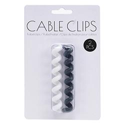 Clip de Fijación Espiral para Cables