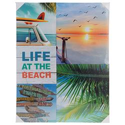 Cuadro Life At Beach