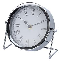 Reloj de Mesa Stand Cromo