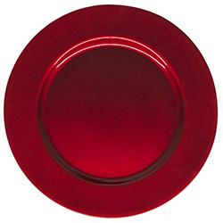 Porta Plato Rojo 33x33cm