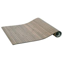 Alfombra de Bambú Gris 50x80cm