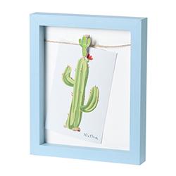 Porta Retrato Cactus Celeste