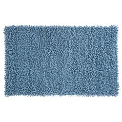 Alfombra de Baño Rizo Azul 45x75cm
