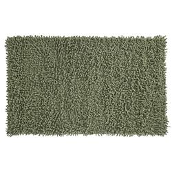 Alfombra de Baño Rizo Gris Verde 45x75cm