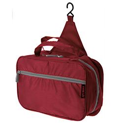 Neceser Rojo con Gancho para Viaje