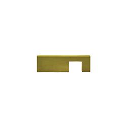 Tiradera Ayax Oro Satín 96mm