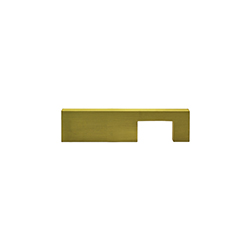 Tiradera Ayax Oro Satín 128mm