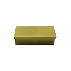 Tiradera Cronos Oro Mate 64mm