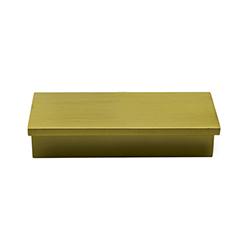 Tiradera Cronos Oro Mate 96mm