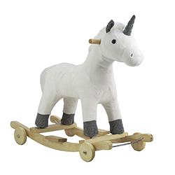 Silla Móvil Unicornio Blanco