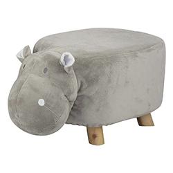 Silla Hipopótamo Gris 59cm