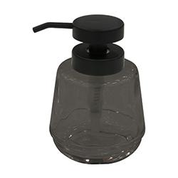 Dispensador de Jabón Líquido Negro Lucenze