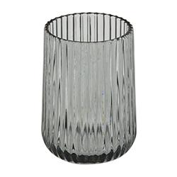 Vaso Negro Transparente Lucenze