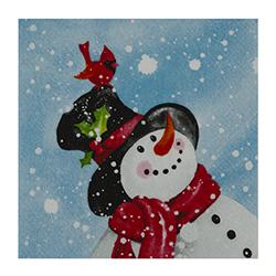 Servilleta Happy Snowman 33x33cm 20 Unidades