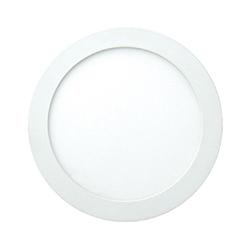 Slim Panel Led Redondo de Empotrar 12w Luz de Día