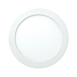 Slim Panel Led Redondo de Empotrar 24w Luz de Día