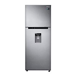Refrigeradora Twin Cooling Plus 375Lts. Dispensador de Agua Silver Samsung