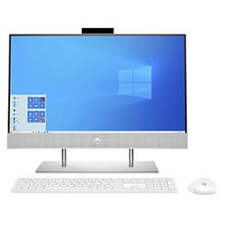 Computador Aio Hp Amd R5-4500U 2.3Ghz-8Gb-1Tb+256Gb Ssd-Plata Natural-23.8
